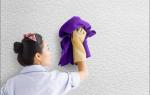 Уход за жидкими обоями: как чистить от грязи