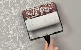 Валики для нанесения декоративной штукатурки: виды валиков и как ими пользоваться