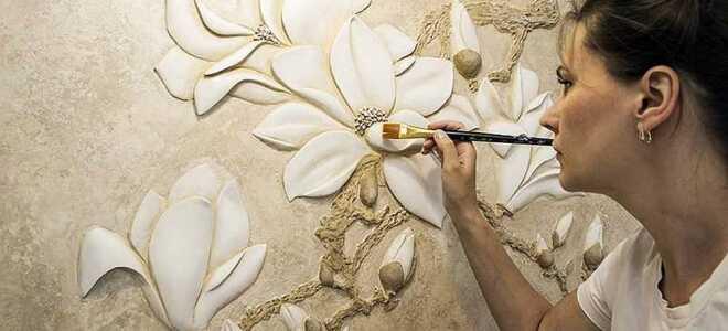 Барельеф в интерьере из декоративной штукатурки: мастер класс
