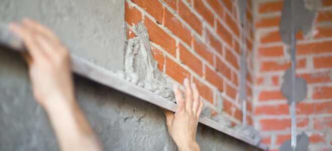 Установка маяков для штукатурки стен: подробная технология выставления + чек-лист