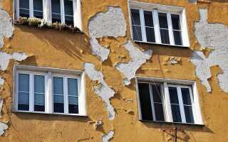Причины разрушения штукатурки и как с эти бороться. Методы выравнивания стен.