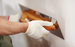Подготовка бетонных стен под жидкие обои: нужно ли шпаклевать