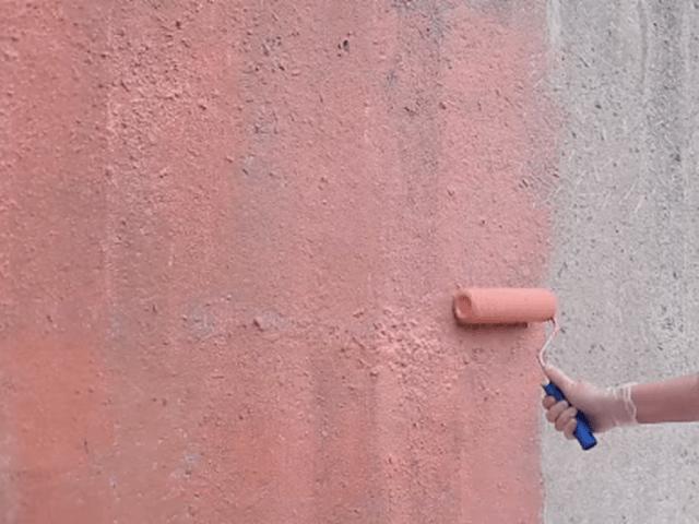 Грунтовка стены глубокого проникновения бетонконтактом